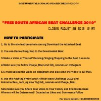 DJ Nosmas - Free South Africa Beat 2019 Challenge/Competition
