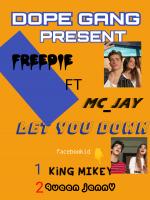 FREDDIE ft MC_JAY - Let You  Down