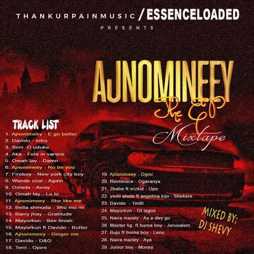 royal dj shevy - AJNOMINEEY - THE EP MIXTAPE