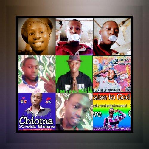 2Greidz ×2Grade Efejene - Rainbow (2Face Idibia Covers)