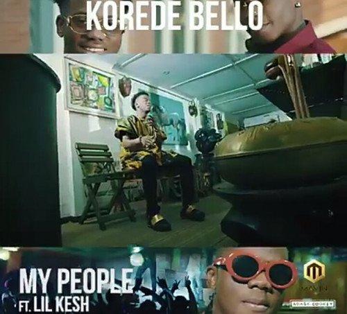 Korede Bello - My People (feat. Lil Kesh)