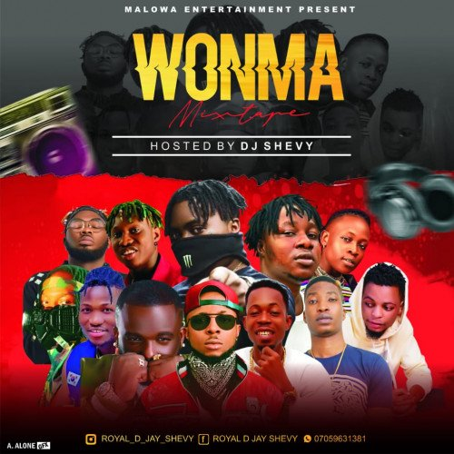 royal dj shevy - WONMA MIXTAPE
