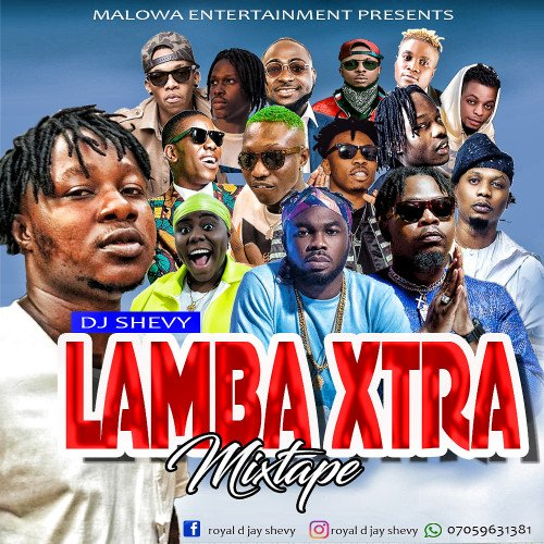 royal dj shevy - Lamba Xtra Mixtape