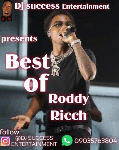 Dj success - Best Of Roddy Ricch Mixpate