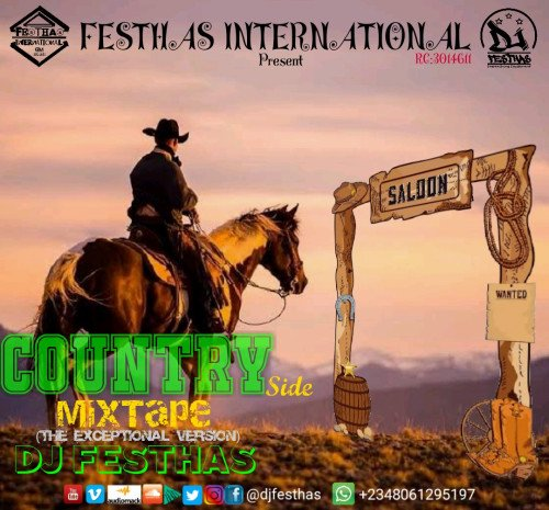 DJ FESTHAS - Country Side Mixtape (the Exceptional Version)