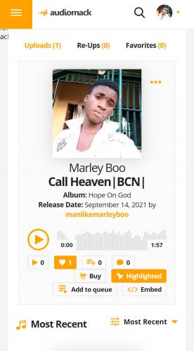 MarleyBoo - Call Heaven