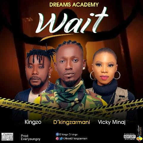 D'kingZarmani - Wait  Feat VickyMinaj X Kingzo