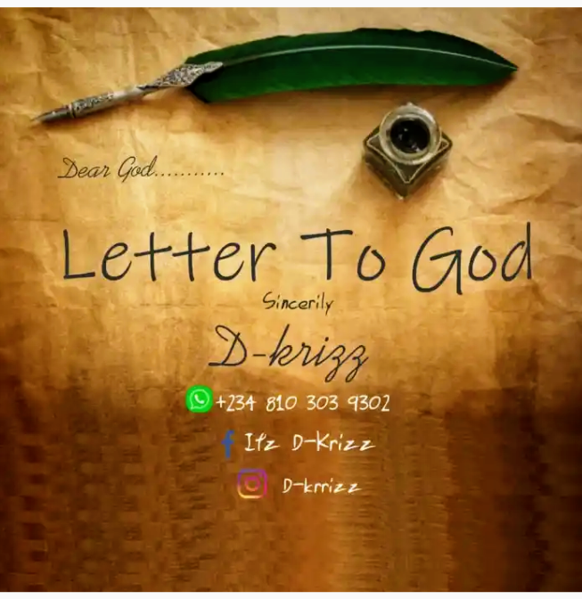 D krizz - Letter To God